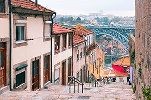 Quartier Ribeira à Porto