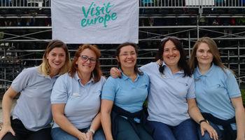 L'équipe Visit Europe à Madère