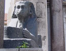 Sphinx du Palais de Dioclésien