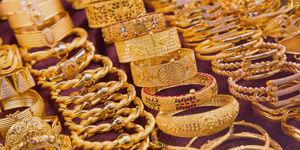 Le marché de l'or dans le quartier de Deira