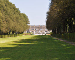 Le château d'Herrenchiemsee en Allemagne