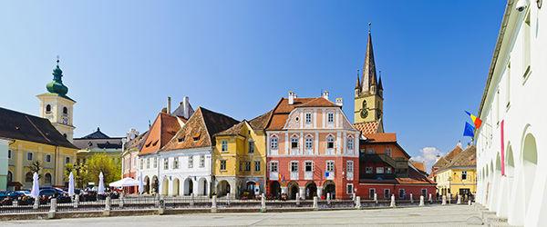 Sibiu en Roumanie