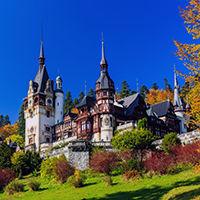 Château Peles en Roumanie