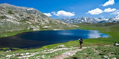Le lac Nino en Corse