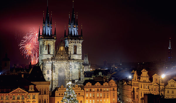 Réveillon Nouvel An Prague