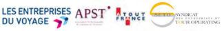 Partenaires : Les entreprises du voyage, APST, Atout France