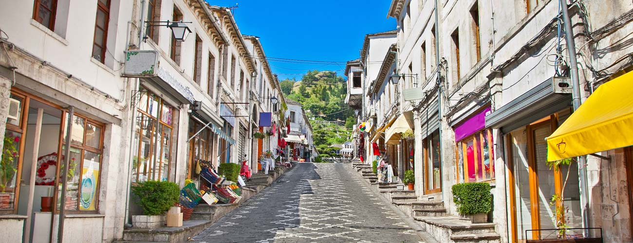 Découverte de Gjirokastër en Albanie