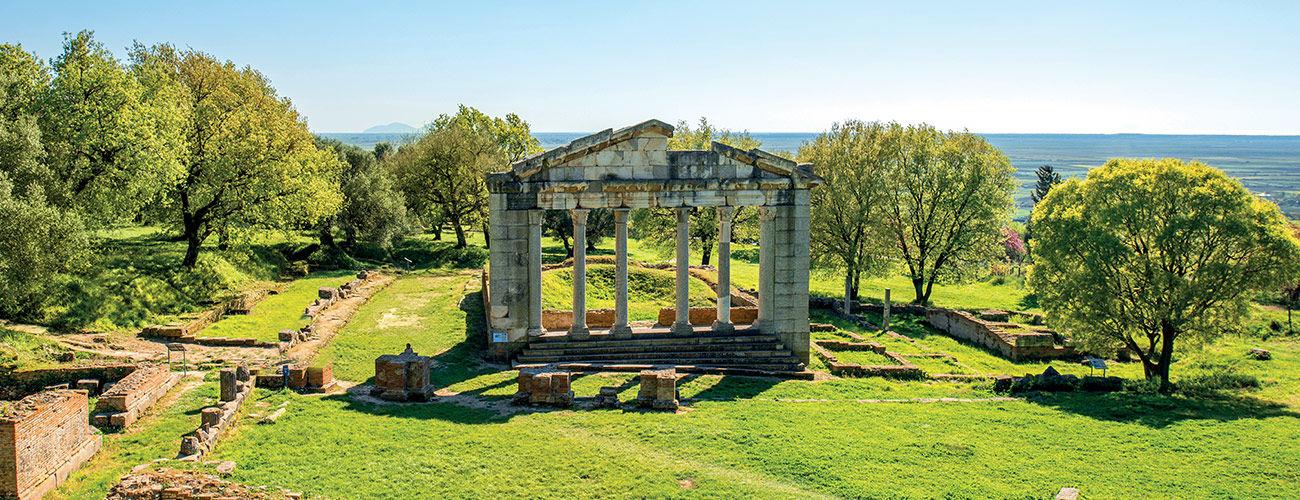 Le site archéologique d'Apollonia
