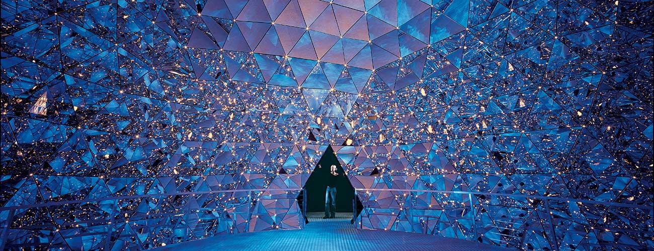 Les mondes de cristal Swarovski à Wattens