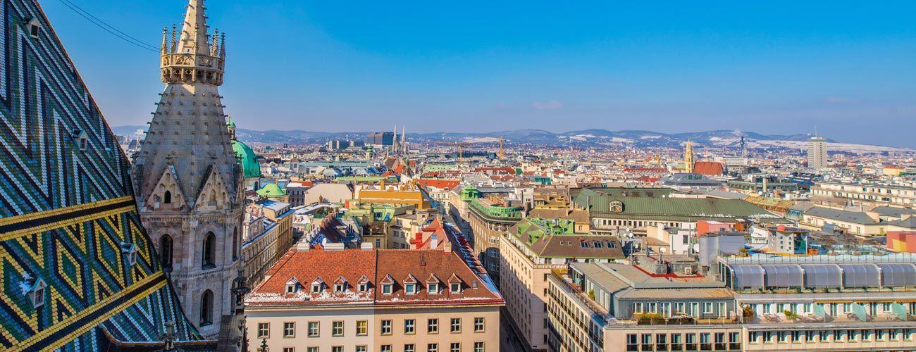 Vienne la capitale de l'Autriche
