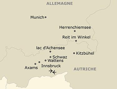 Les étapes de votre circuit en Autriche