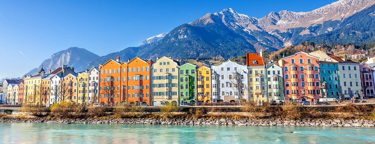 Innsbruck, capitale du Tyrol