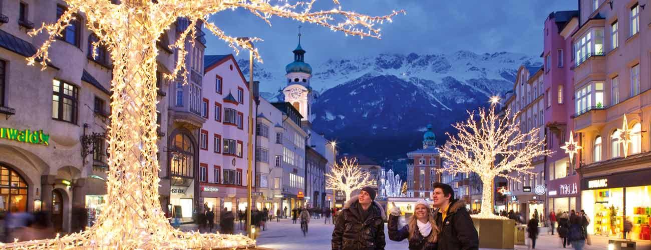 Ambiance de noël en Autriche
