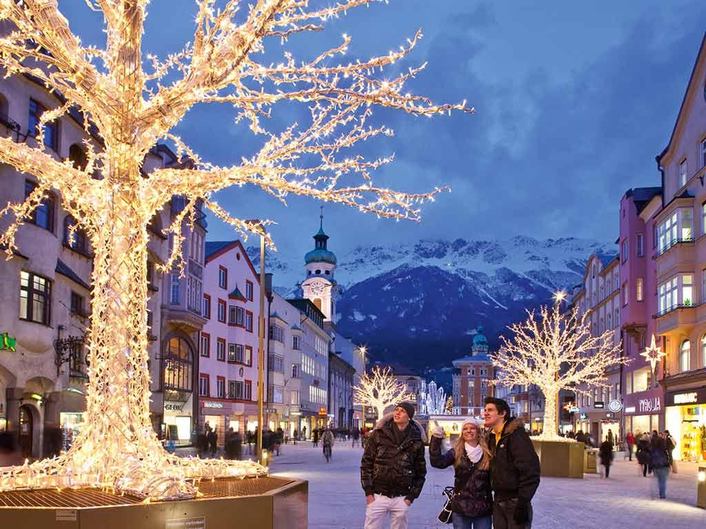 Ambiance de Noël à Innsbruck
