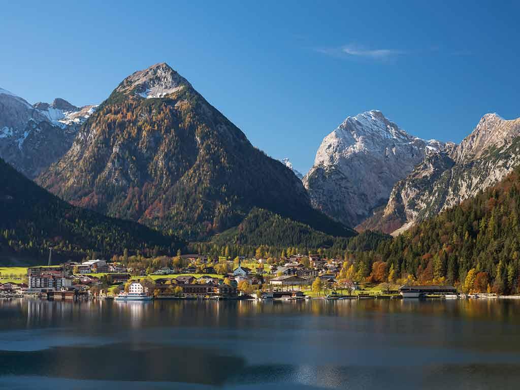 Lac d'Achensee en Autriche