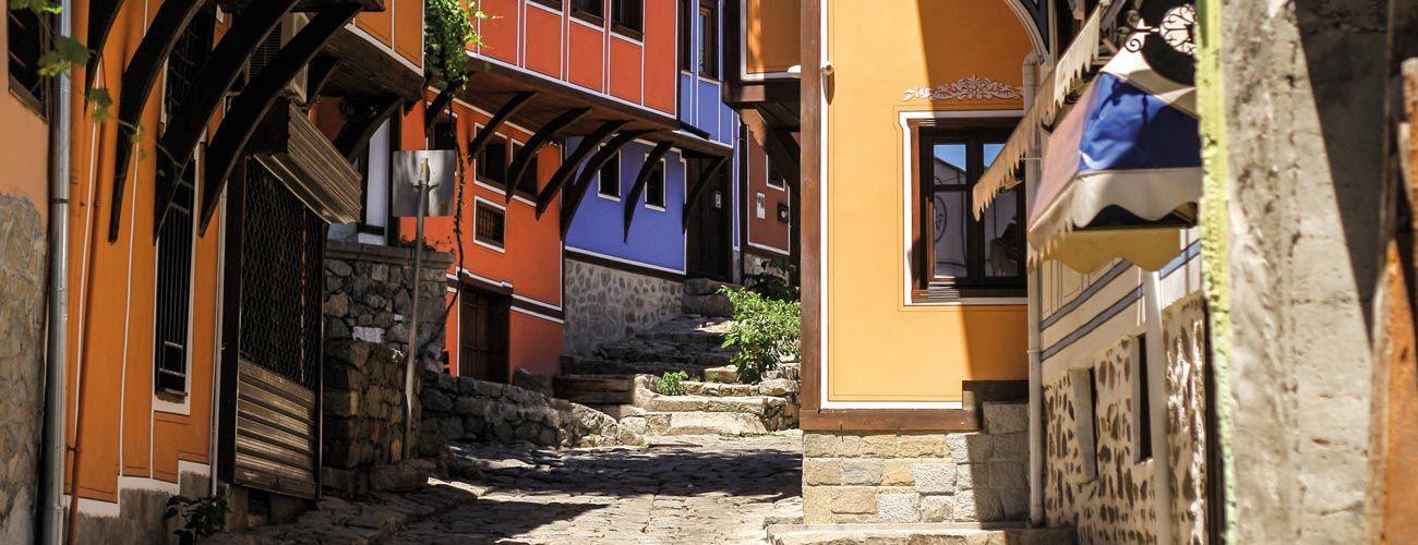 Rue en Bulgarie