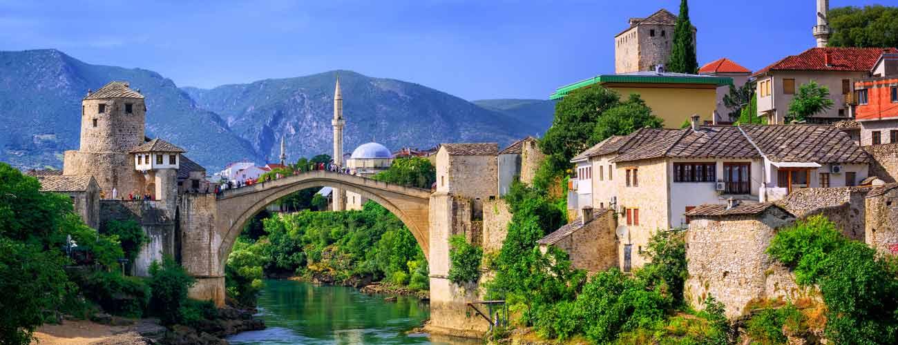 Mostar en Bosnie