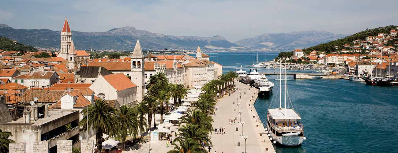 La ville de Trogir
