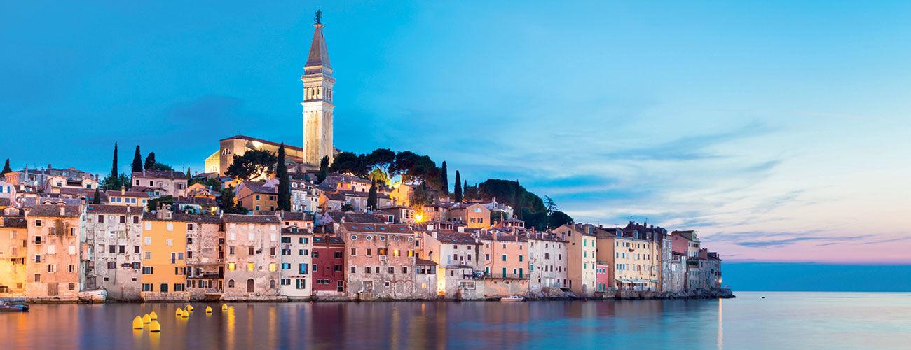 Rovinj en Croatie