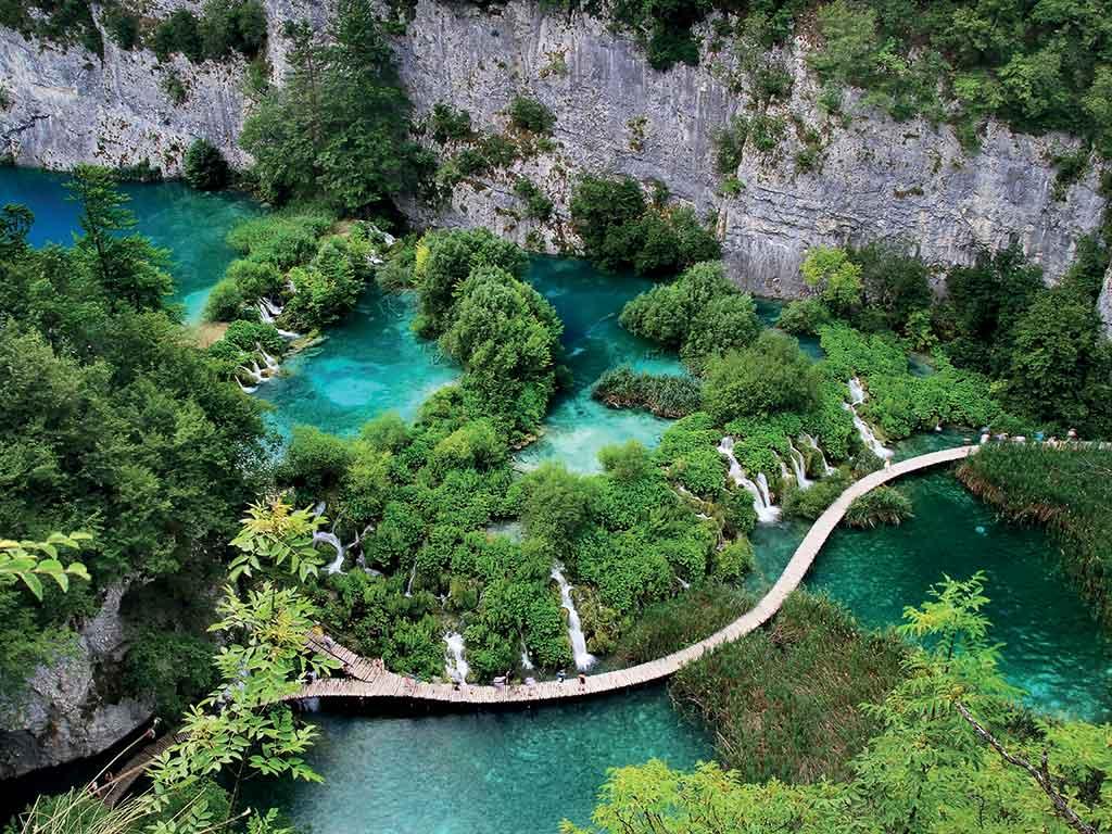 Les superbes lacs de Plitivice