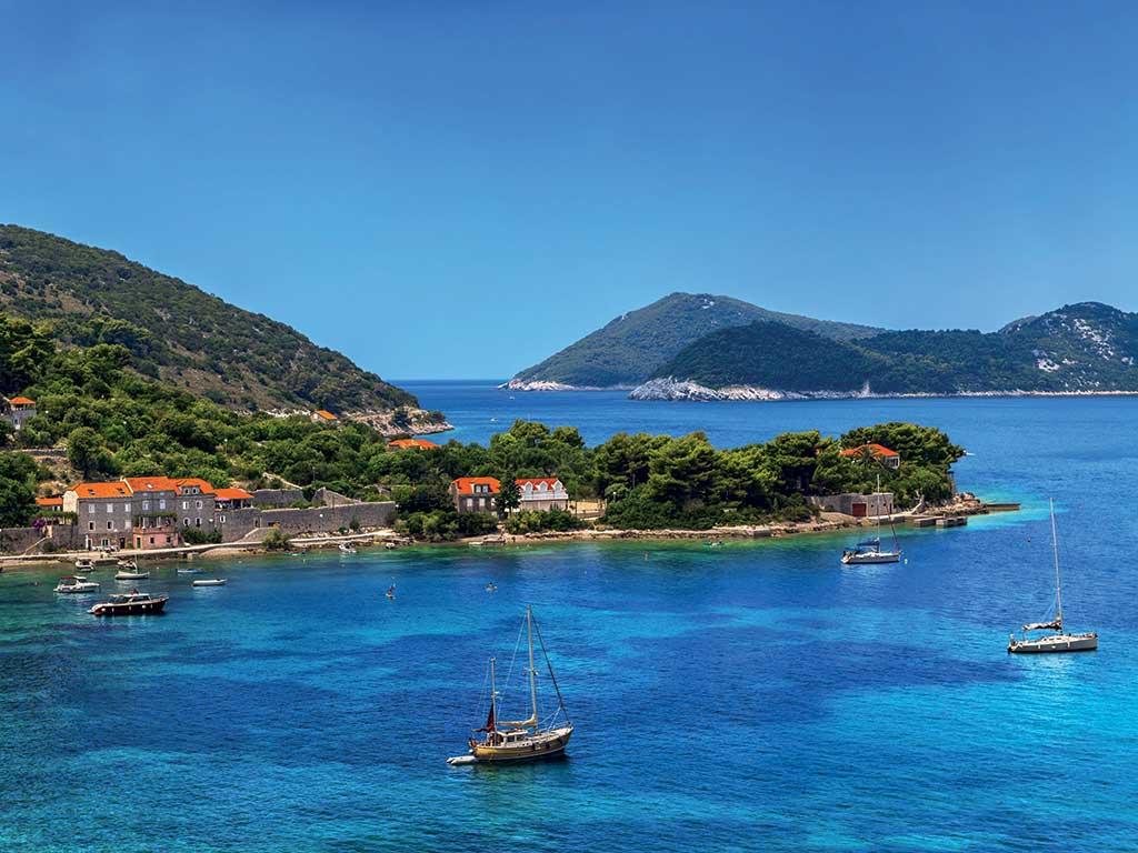 Les îles Élaphites, au large de Dubrovnik