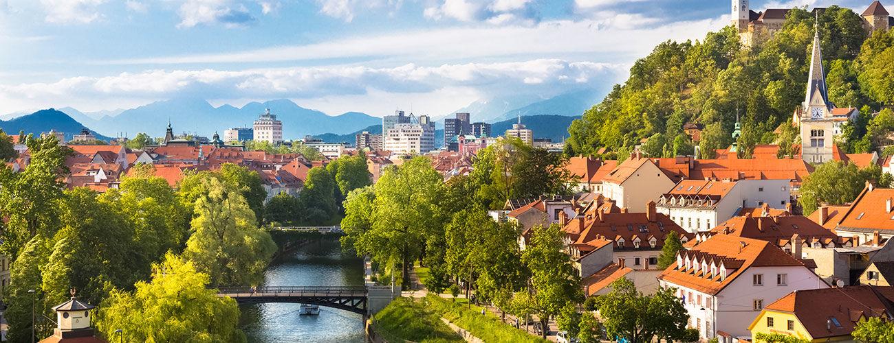 La capitale slovène, Ljubljana