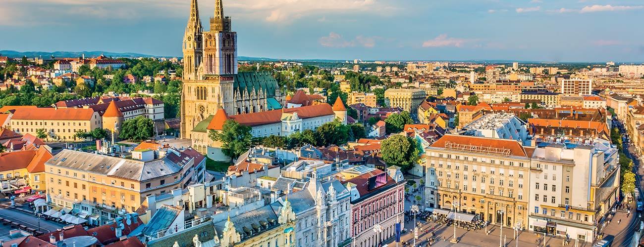 La capitale croate, Zagreb
