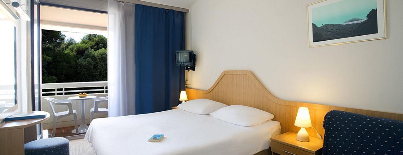 Chambre de l'hôtel Valamar Club