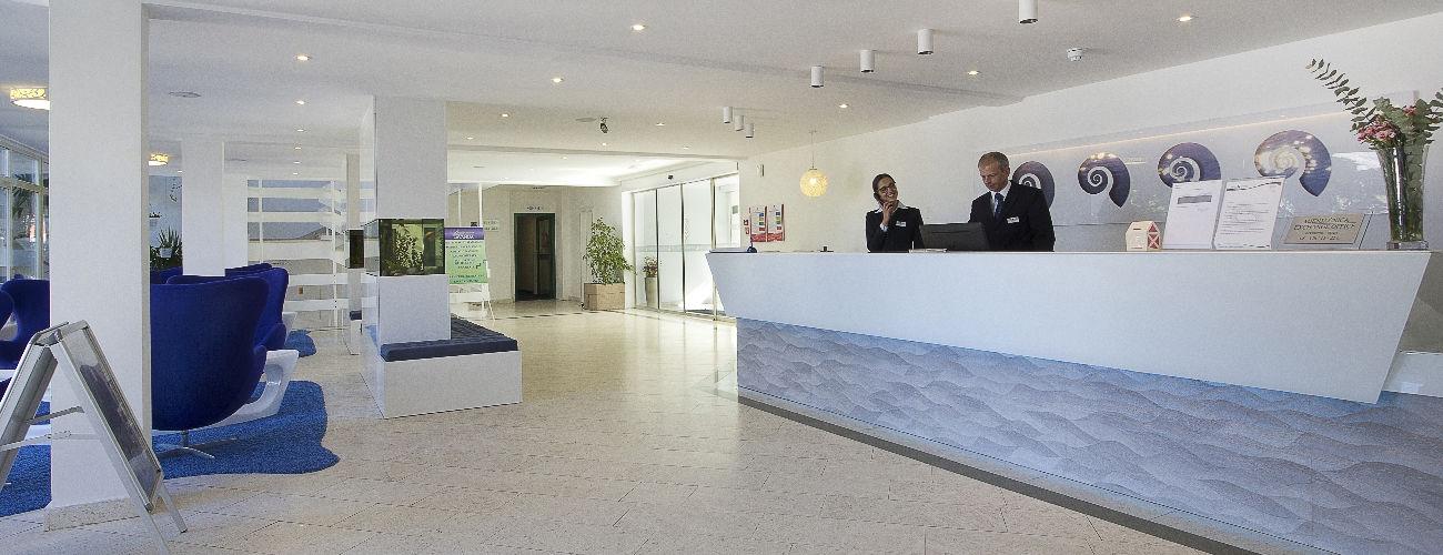 Reception de l'hôtel Cavtat 3*