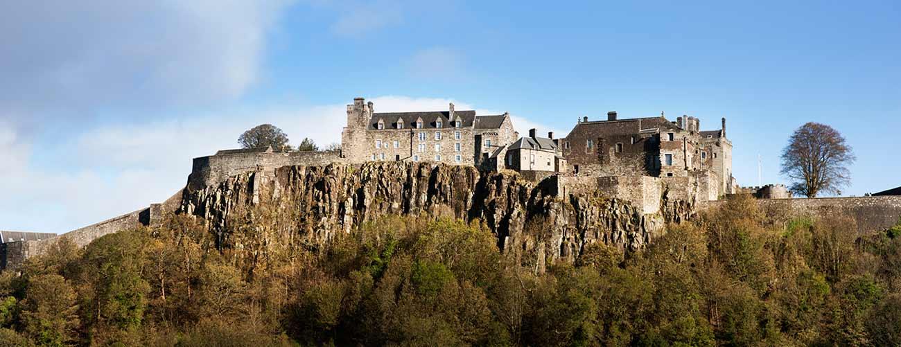 Château de Stirling, en Écosse