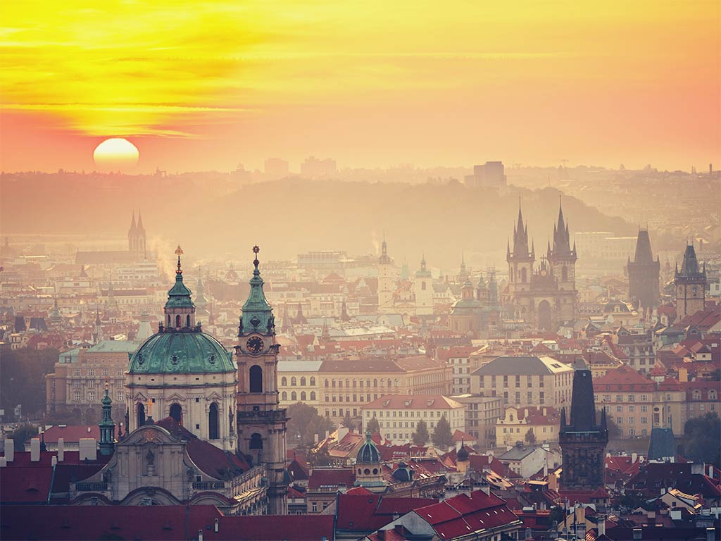 Vue sur Prague