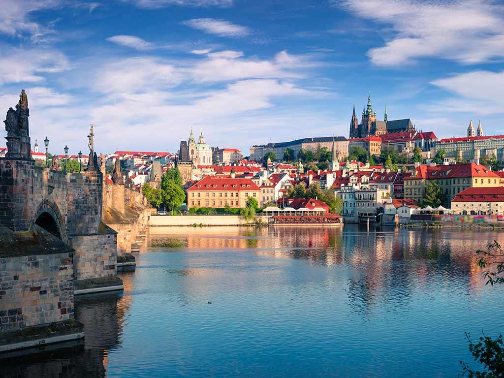 Découverte en étoile à Prague