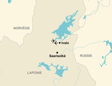 La situation de la Laponie