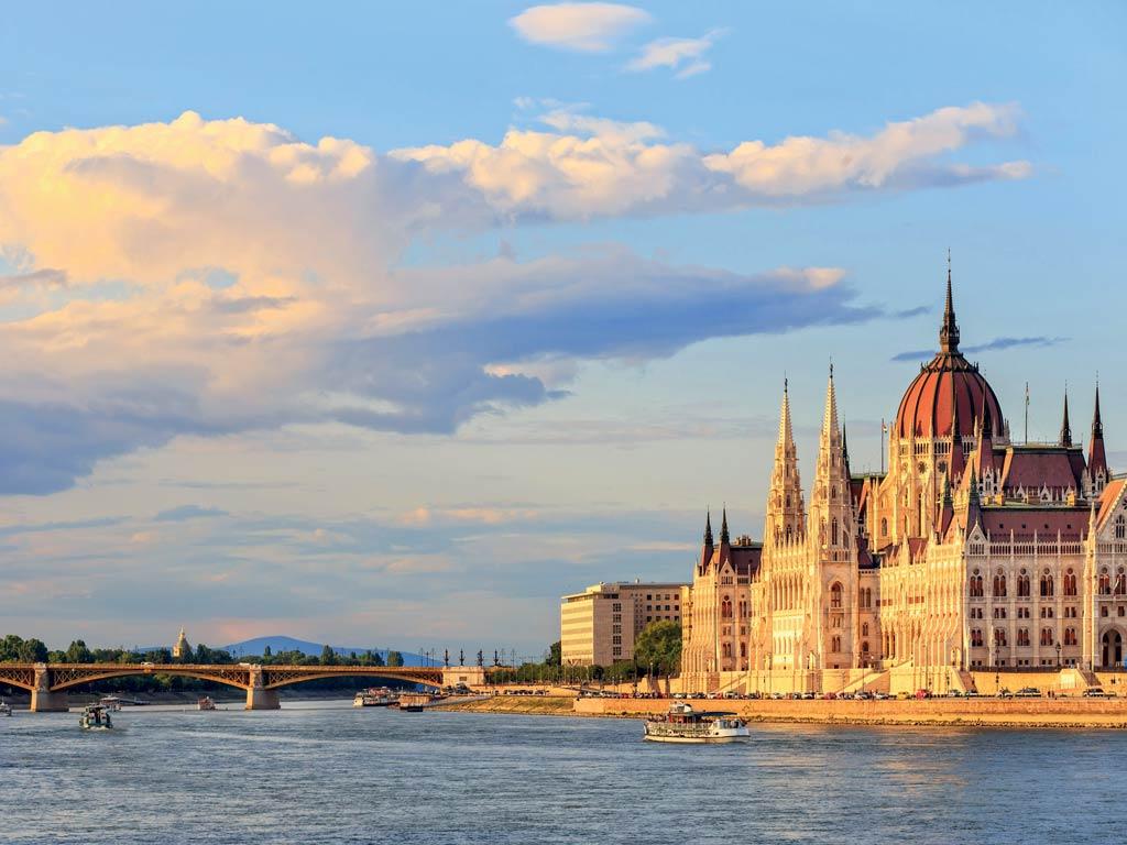 Le Parlement à Budapest