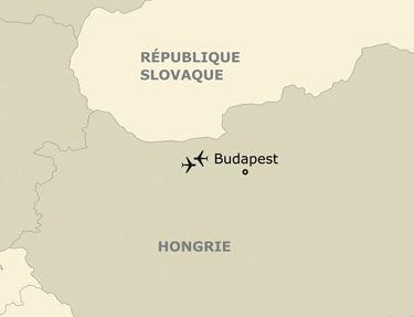 Itinéraire de votre programme en Hongrie