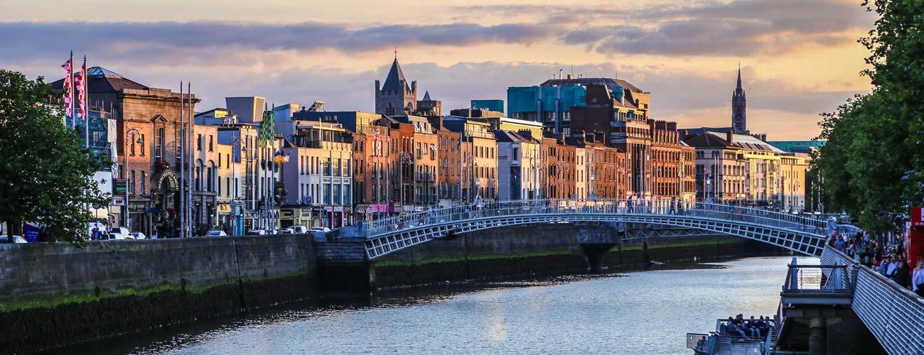 Vue de Dublin