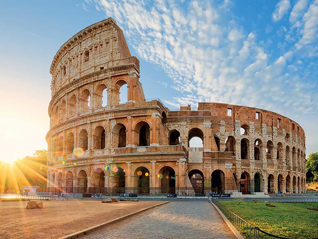 Le Colisée, symbole de Rome