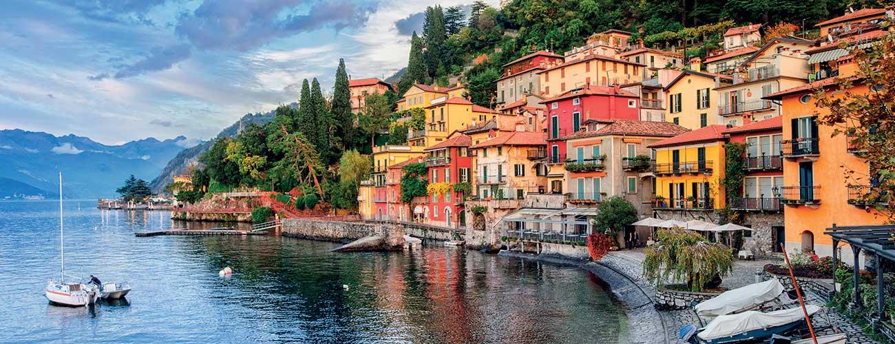 Le lac de Come en Italie