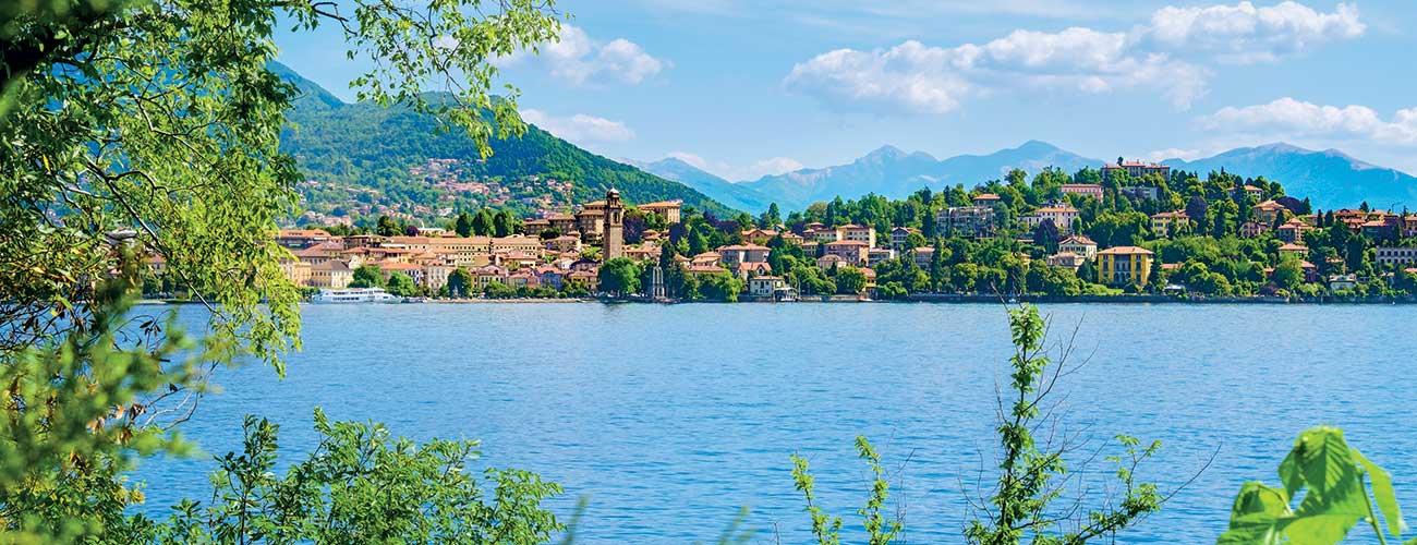Le lac majeur en Italie