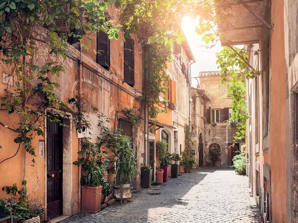 Ruelle de Rome