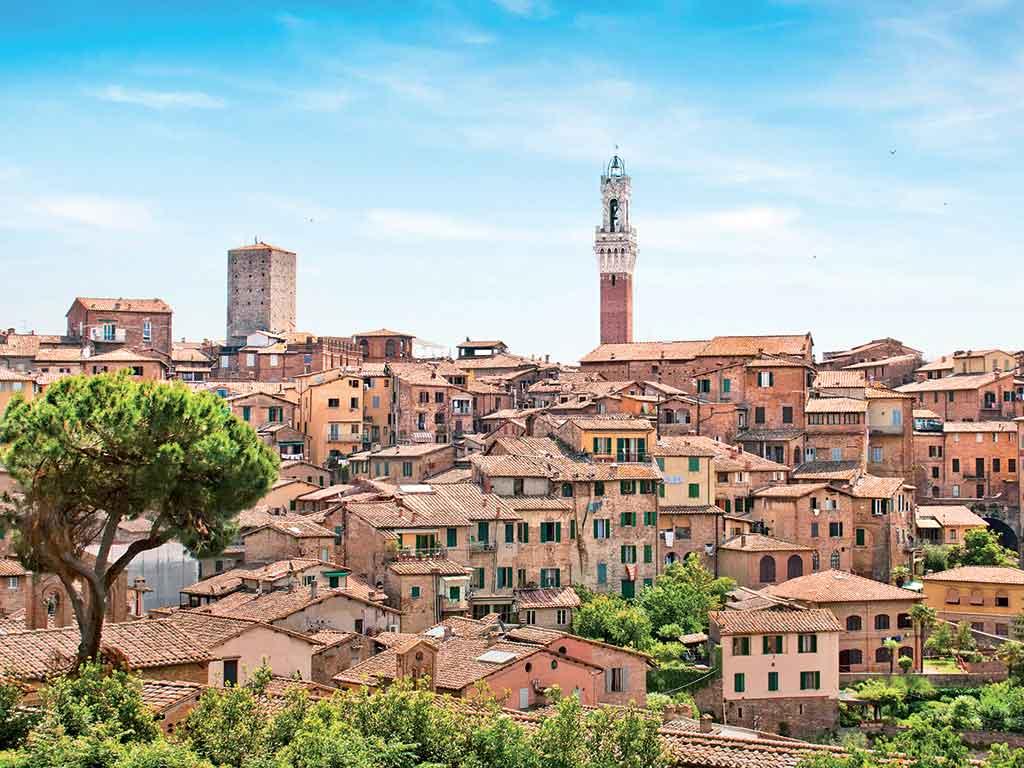 Sienne, ville de Toscane