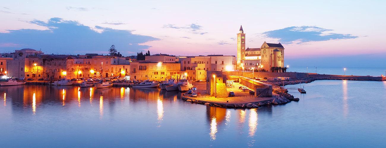 Ville médiévale de Trani