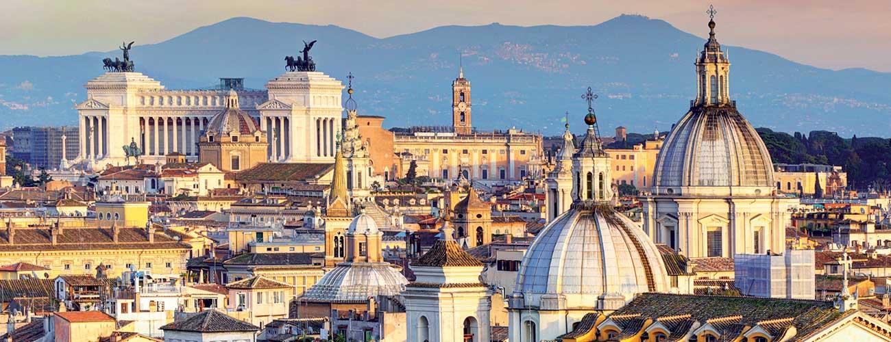 Les toits de Rome