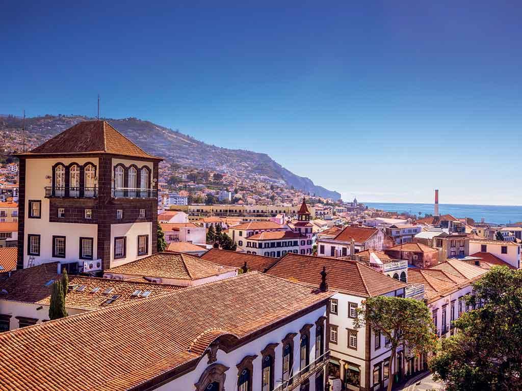 Vue des toits de Funchal