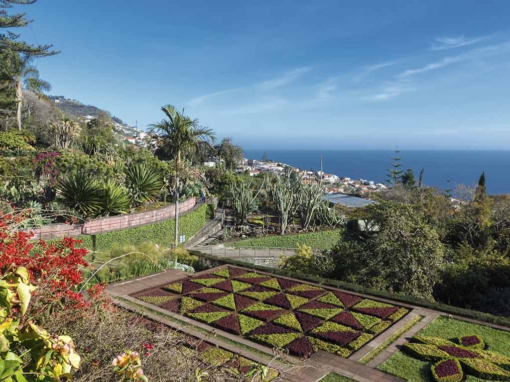 En option, découverte des jardins de Funchal