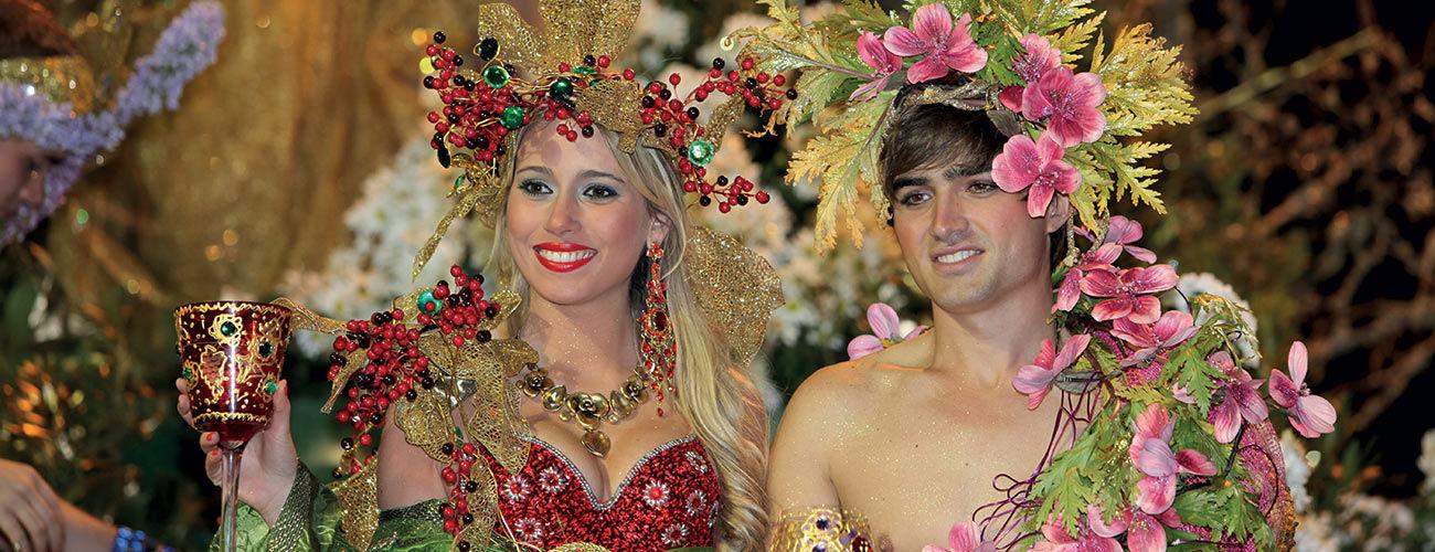 Parade du carnaval de Madère
