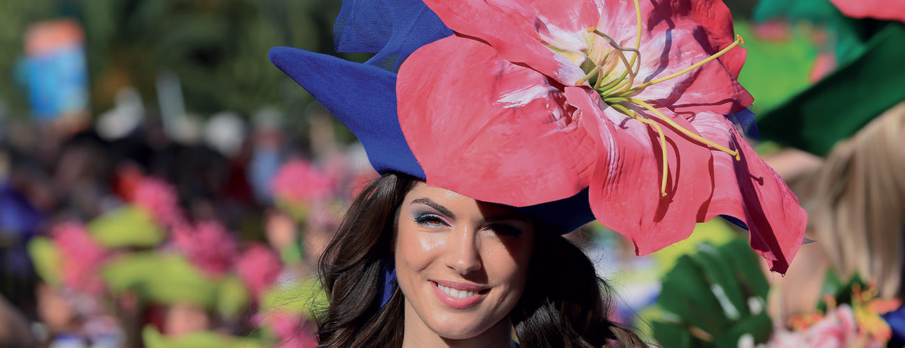 La fête des fleurs à Madère