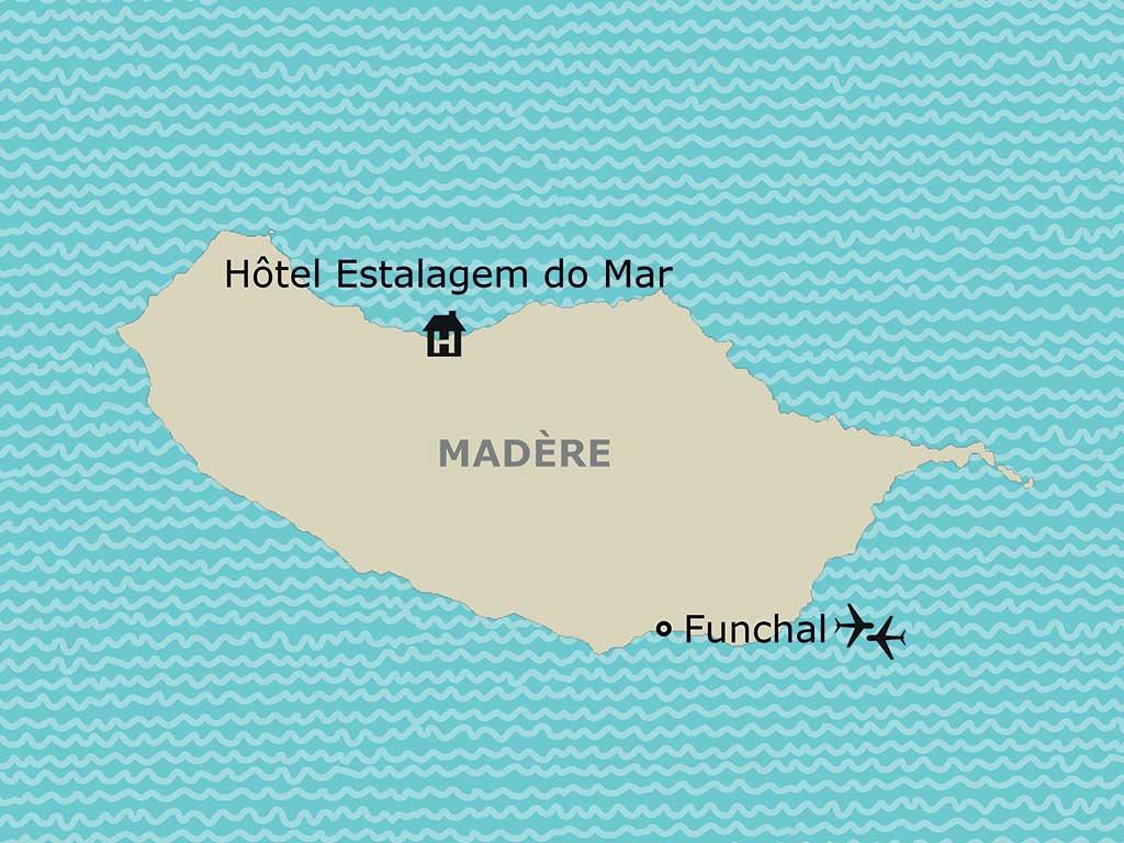Madère - Ile de Madère - Hôtel Estalagem do Mar 3*