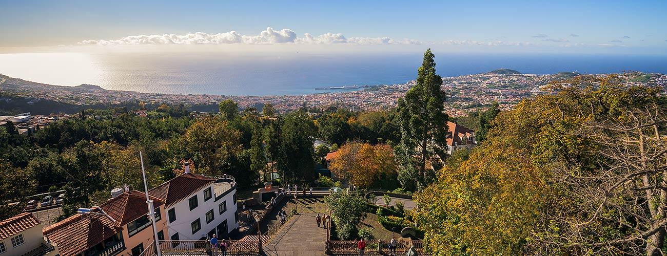 Vue de Funchal