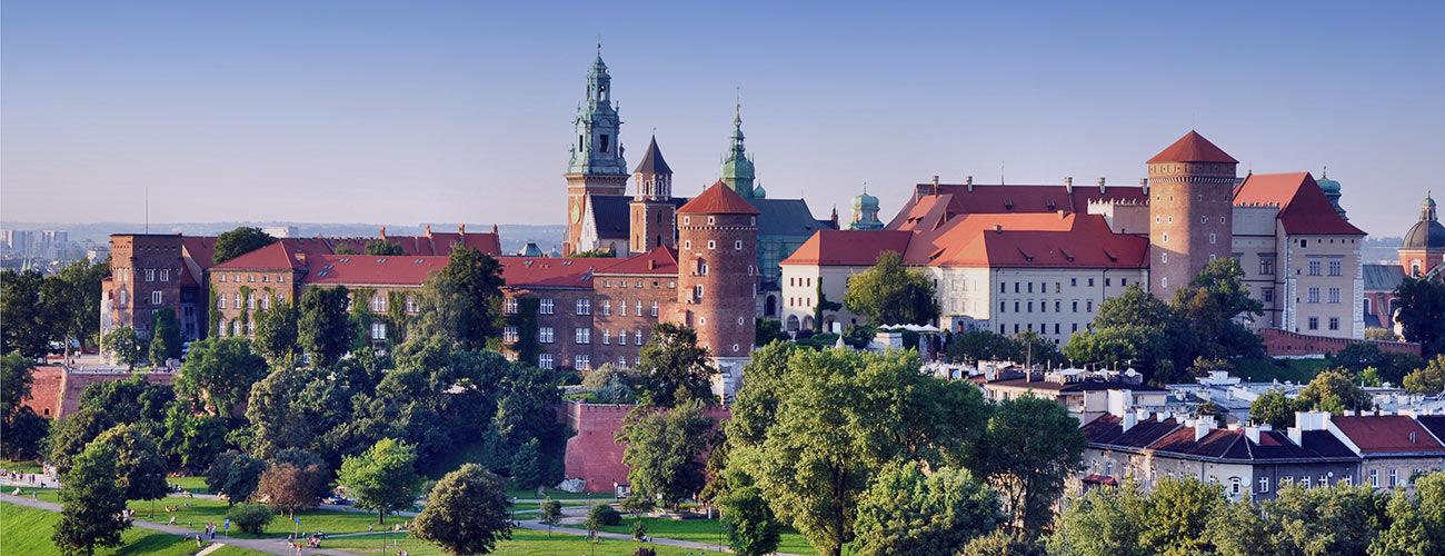 Vue du château de Wawel